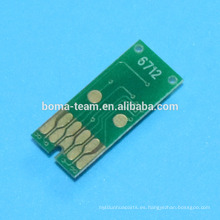 Chip de mantenimiento T6712 chip Para impresora Epson WorkForce Pro WP 8010 8090 8510 8590